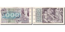 World Coins - Banknote, Switzerland, 1000 Franken, 1971, 1971-02-10, KM:52i, VF(30-35)