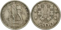 World Coins - Coin, Portugal, 5 Escudos, 1975, , Copper-nickel, KM:591