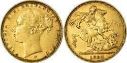 World Coins - Coin, Australia, Victoria, Sovereign, 1882, Melbourne, , Gold, KM:7