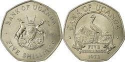 World Coins - Coin, Uganda, 5 Shillings, 1972, , Copper-nickel, KM:18