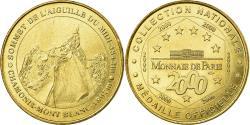 World Coins - France, Token, Touristic token, Chamonix - Mont-Blanc - Sommet de l'aiguille du
