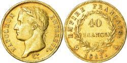World Coins - Coin, France, Napoléon I, 40 Francs, 1811, Paris, , Gold, KM:696.1
