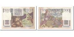 World Coins - France, 500 Francs, 1952, 1952-07-03, EF(40-45), Fayette:34.9, KM:129c