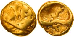 Ancient Coins - Coin, Morini, 1/4 Stater, Ist century BC, , Gold, Delestrée:249