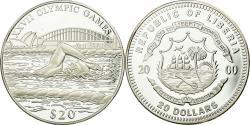 World Coins - Coin, Liberia, 20 Dollars, 2000, , Silver