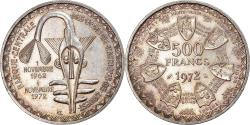 World Coins - Coin, West African States, 500 Francs, 1972, , Silver, KM:7