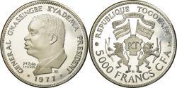 World Coins - Coin, Togo, 5000 Francs, 1977, , Silver, KM:8