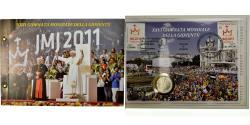 World Coins - Vatican, 2 Euro, 26ème journée mondiale de la jeunesse, 2011, Enveloppe