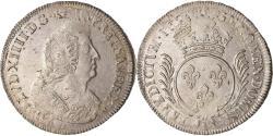 World Coins - Coin, France, Louis XIV, Écu aux palmes, Ecu, 1694, Nantes, , Silver