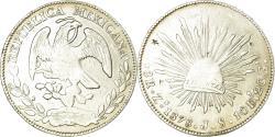 World Coins - Coin, Mexico, 8 Reales, 1878, Zacatecas, , Silver, KM:377.13