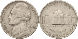 Us Coins - UNITED STATES, Jefferson Nickel, 5 Cents, 1978, U.S. Mint, KM #A192, ,.