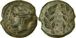 Ancient Coins - Coin, Sicily, Himera, Hemilitron, Himera, EF(40-45), Bronze