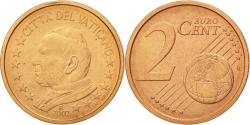 World Coins - VATICAN CITY, 2 Euro Cent, 2002, , Copper Plated Steel, KM:342