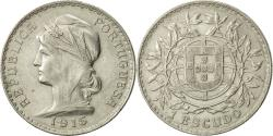 World Coins - Portugal, Escudo, 1915, Lisbon, , Silver, KM:564