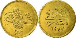 World Coins - Coin, Egypt, Abdul Aziz, 25 Qirsh, 1868/AH1277, Misr, , Gold, KM:261