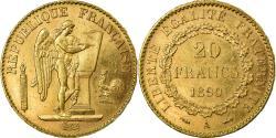 World Coins - Coin, France, Génie, 20 Francs, 1890, Paris, , Gold, KM:825