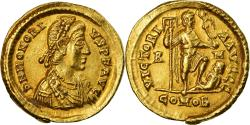 Ancient Coins - Coin, Honorius, Solidus, Rome, , Gold, RIC:1252