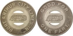 Us Coins - United States, Token, Port Arthur City Lines Inc.