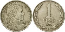 World Coins - Coin, Chile, Peso, 1975, , Copper-nickel, KM:207