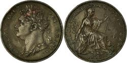 World Coins - Coin, Great Britain, George IV, Farthing, 1822, , Copper, KM:677