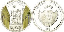 World Coins - Coin, Palau, La statue de Zeus, 5 Dollars, 2013, Proof, , Silver