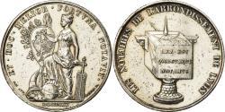 World Coins - France, Token, Notaires de l'Arrondissement de Lyon, 1830, Barre,