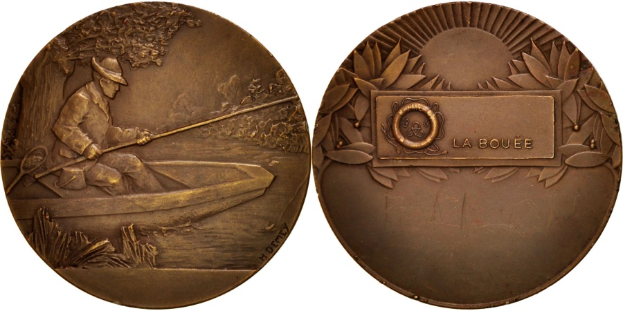 World Coins - France, La Bouée, Sports & leisure, Medal, , Demey, Bronze, 50