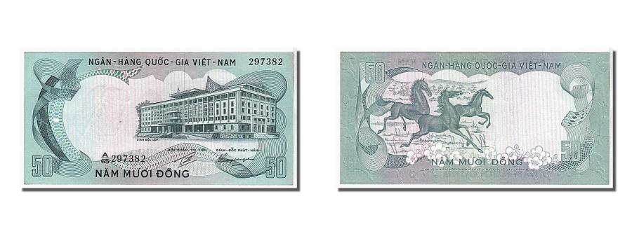 World Coins - South Viet Nam, 50 Dng, 1972, KM #30a, UNC(65-70), 297382
