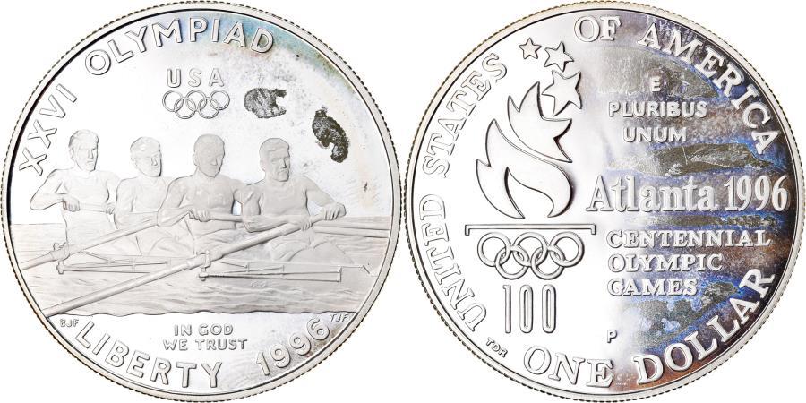 US Coins - Coin, United States, Dollar, 1996, U.S. Mint, Philadelphia, Proof,