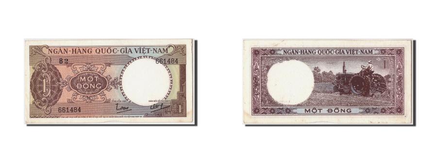 World Coins - South Viet Nam, 1 Dông, Undated (1964), KM:15a, EF(40-45)
