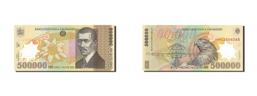 World Coins - Romania, 500,000 Lei, 2000-2001, 2000, KM:115a, UNC(65-70)