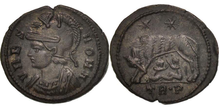 Ancient Coins - City Commemoratives, Follis, Trier, , Bronze, RIC:542P