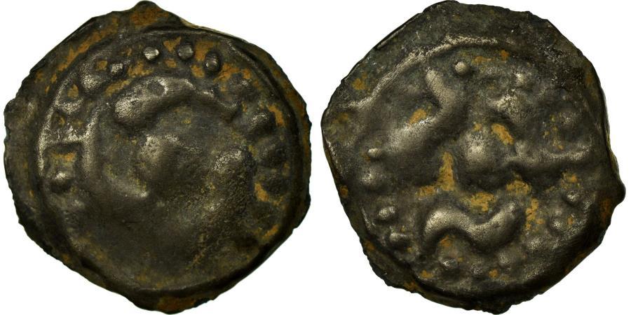 Ancient Coins - Coin, Lingones, Potin, , Potin, Delestrée:3261