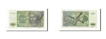 World Coins - GERMANY - FEDERAL REPUBLIC, 20 Deutsche Mark, KM:32a, 1970-01-02, VF(30-35)