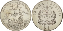 World Coins - Samoa, Tala, 1972, MS(63), Copper-nickel, KM:11