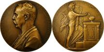 World Coins - France, Medal, Les Présidents de la République, Jean Casimir-Périer, 1894