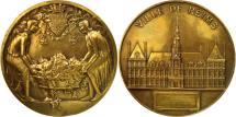 World Coins - France, Medal, Ville de Reims, 1943, Margotin, MS(63), Bronze