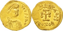 Heraclius, Tremissis, 610-641 AD, Constantinople, Gold, Sear:787
