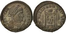 Constantine I, Nummus, 323, Trier, AU(55-58), Copper, RIC:VII 390