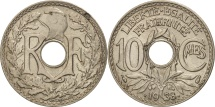 France, Lindauer, 10 Centimes, 1938, AU(50-53), Nickel-Bronze, KM:889.1