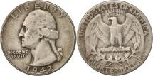 Us Coins - United States, Washington Quarter, 1942, U.S. Mint, Philadelphia