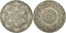 Morocco, 'Abd al-Aziz, 5 Dirhams, 1897, Paris, EF(40-45), Silver, KM:12.2