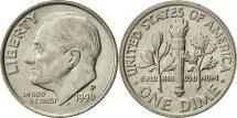 Us Coins - United States, Roosevelt Dime, Dime, 1996, U.S. Mint, Philadelphia, AU(55-58)