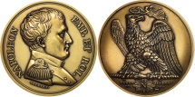 World Coins - France, Medal, Napoléon Empereur et Roi, History, MS(65-70), Bronze