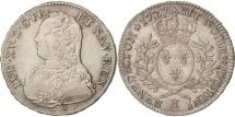 World Coins - France, Louis XV, 1/2 Écu aux branches d'olivier, 1727, Tours, Gadoury 313
