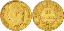 World Coins - France, Napoléon I, 20 Francs, 1812, Paris, AU(50-53), Gold, KM:695.1