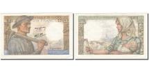 France, 10 Francs, 1941, KM:99e, 1943-03-25, AU(50-53), Fayette:8.8