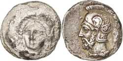 Ancient Coins - Cilicia, Tarsos, Satrape Pharnabazes, Stater, , Silver, Sear:5639