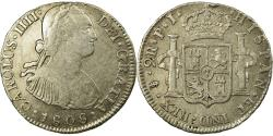 World Coins - Coin, Bolivia, Charles IIII, 2 Reales, 1808, Potosi, , Silver, KM:71