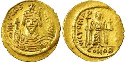 Ancient Coins - Coin, Phocas, Solidus, 602-610, Constantinople, , Gold, Sear:620